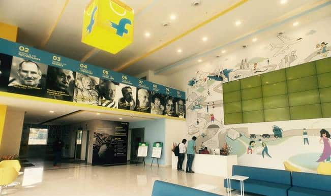 Flipkart shares pictures and video of awesome its new Bangalore office: Take a look!