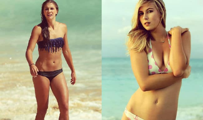 Alex Morgan Maria Sharapova View The Top 7 Sexiest Female Athletes Around The World