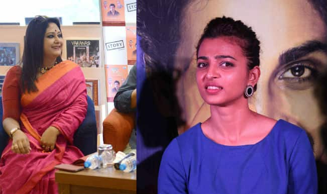 Working with Soumitra Chatterjee fangirl moment for Radhika Apte