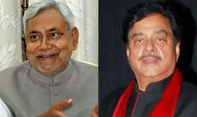 BJP red-faced over Shatrughan Sinha's praise of Nitish Kumar