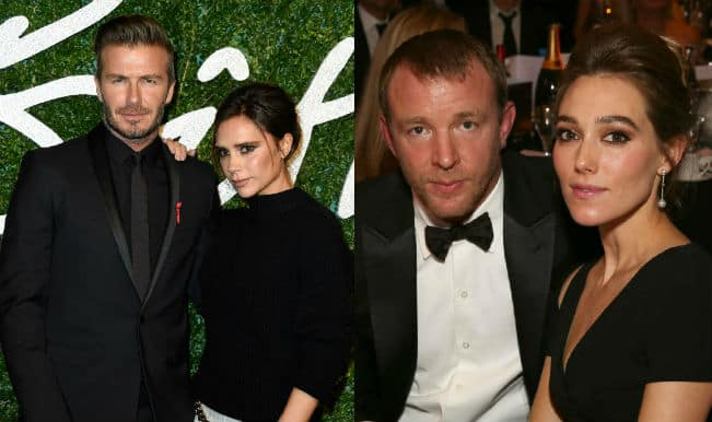 David Beckham among guests to Guy Ritchie's wedding