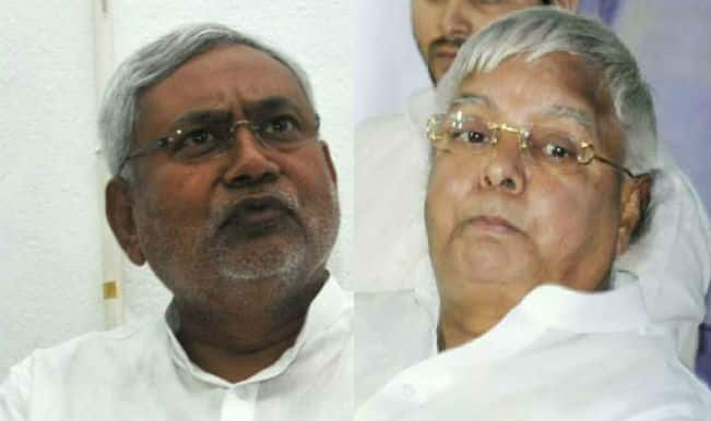 Ram Shankar Katheria: Lalu Prasad Yadav and Nitish Kumar will split up before polls in Bihar