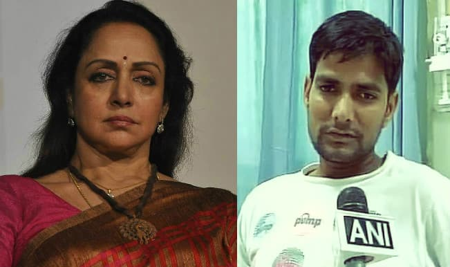 Hema Malini car accident: Deceased girl's father asks actress to think before blaming him!