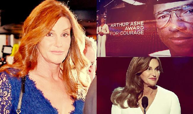 ESPY Awards 2015: Caitlyn Jenner wins Arthur Ashe Award for Courage (Watch Video)