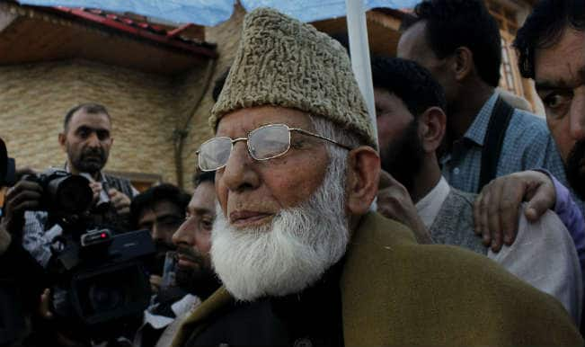 सैयद अली शाह गिलानी पाकिस्तानी उच्चायुक्त के ईद मिलन में नहीं शामिल होंगे