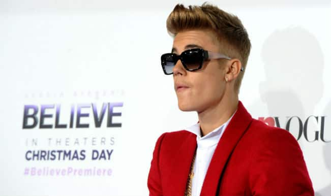 Justin Bieber cheers on Canada at Special Olympics
