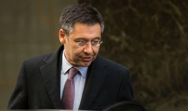 Josep Maria Bartomeu pushes for Michelle Platini as Sepp Blatter's replacement