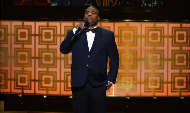 Tracy Morgan walks without cane