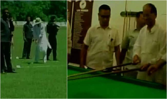 Shame! Tarun Gogoi dances, plays snooker and golf as nation bids farewell to Dr APJ Abdul Kalam