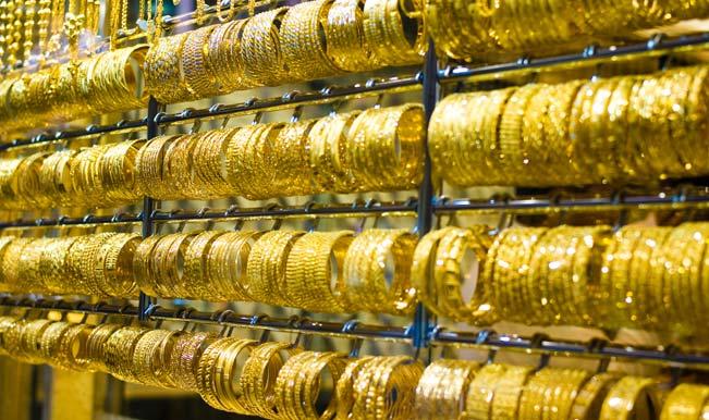 सोने की कीमत में गिरावट