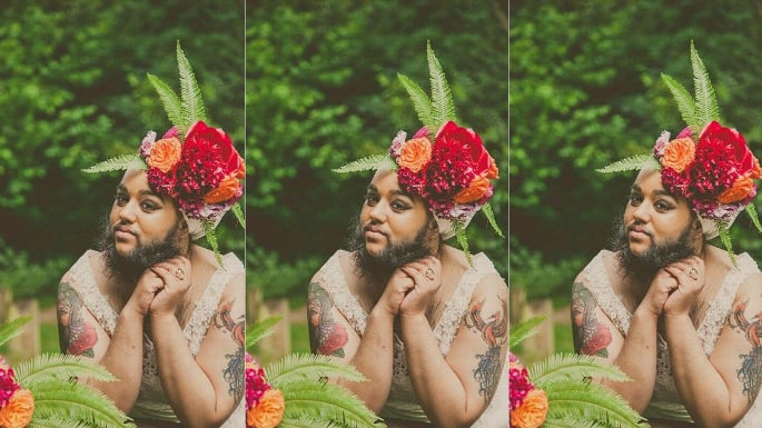 The Bearded Dame Harnaam Kaur Exudes Body Acceptance and Self Love