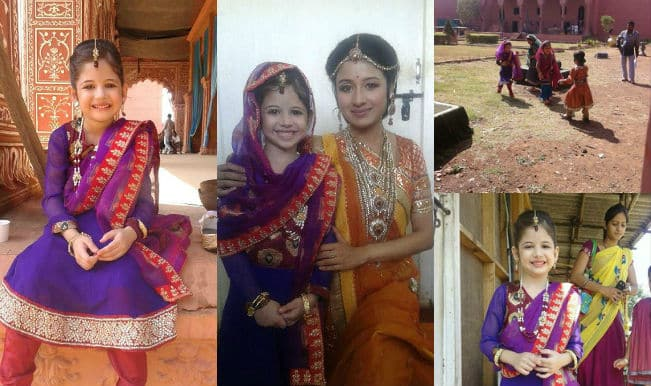 Bajrangi Bhaijaan: Harshali Malhotra spotted on Zee Tv's Jodha Akbar sets!
