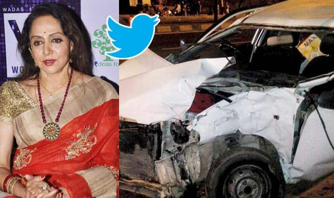 Hema Malini car accident: Dream girl blames deceased girl's father for mishap