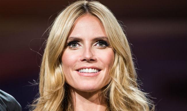 Heidi Klum thinks about beau during lingerie shoots
