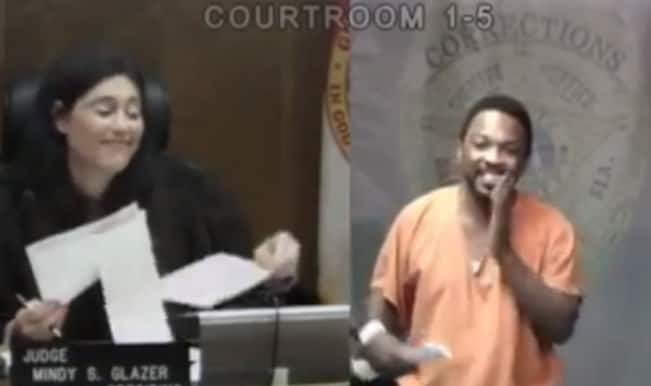 Shocking school-reunion: In court judge recognises the offender as her schoolmate!