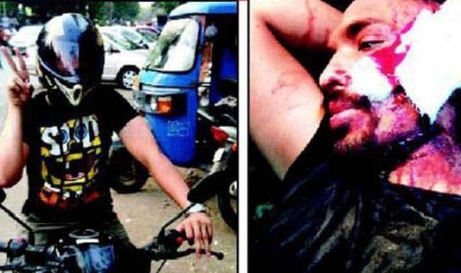 Mumbai motorcylist attacked by drunk girl and two friends