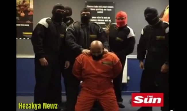 HSBC bankers make ISIS beheading video in office, get fired! (Watch it here)