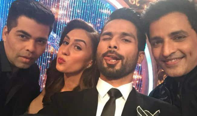 Jhalak Dikhhla Jaa Reloaded: Karan Johar shares pictures from the sets of celebrity dance show!