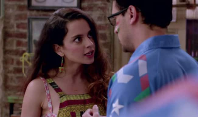 Katti Batti making: Kangana Ranaut is frustrated with 'Little Soldiers'!