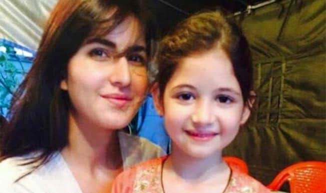 Katrina Kaif meets Harshaali Malhotra – See picture of Salman Khan's favourites!