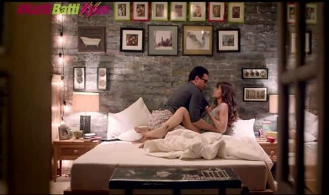 Katti Batti promo Bedtime Stories: Kangana Ranaut and Imran Khan kiss, and make-up! (Watch video)