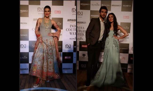 Amazon India Couture Week 2015 Live: Kriti Sanon, Pernia Qureshi and Imran Abbas walk for Monisha Jaising
