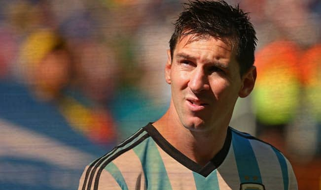 Stop criticising Lionel Messi: Argentinian soccer chief