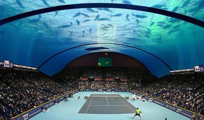 Undersea Grand Slam Tournaments Dubai To Have An Underwater Tennis Court