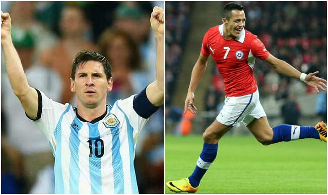 Argentina vs Chile Live Updates and Score, Copa America 2015 final: CHILE win Copa America on Penalties (4-1)