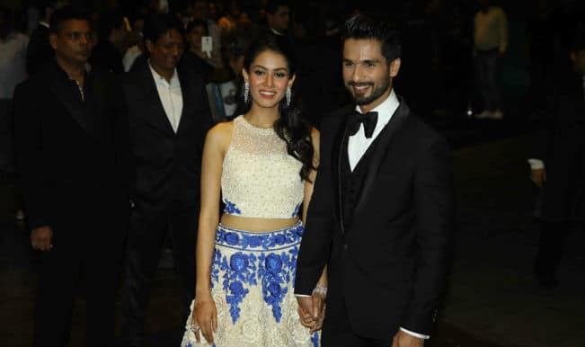 Shahid-Mira Kapoor's Mumbai reception a starry affair