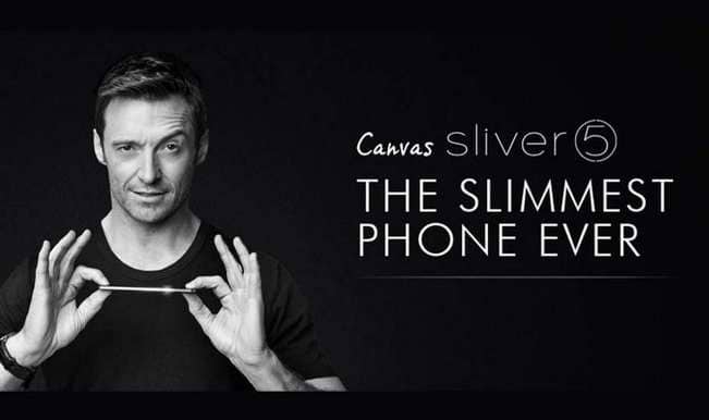Micromax Sliver 5: Hugh Jackman breaks out of prison with the world's slimmest smartphone!