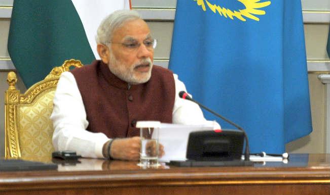 भारत, कजाकिस्तान के बीच 5 करार