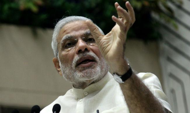 नरेंद्र मोदी ने स्वच्छ भारत अभियान पर जोर दिया