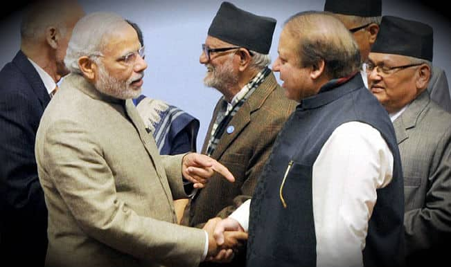 modi and sharif meet