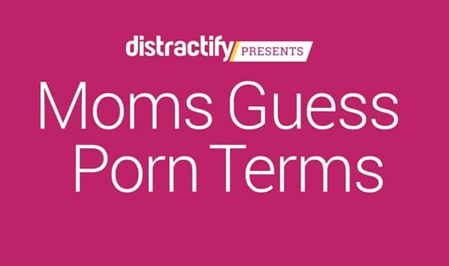 Porn terms guessed by mothers in a hilarious video