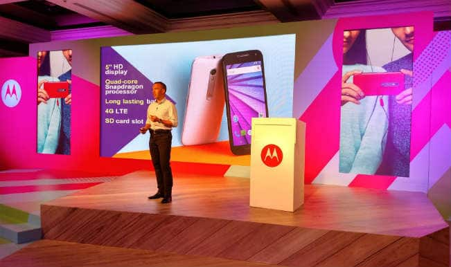 Motorola launches Moto G third Gen at Rs 11,999; to go on sale on Flipkart at 12 midnight today