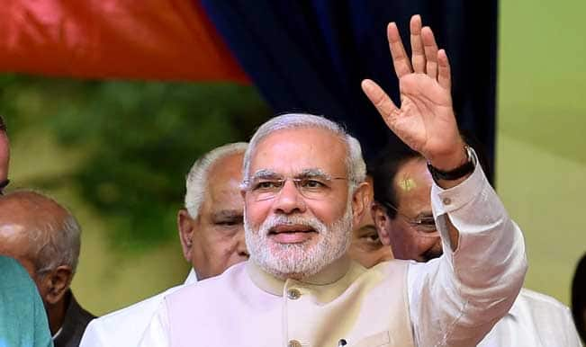 Narendra Modi greets France on Bastille Day