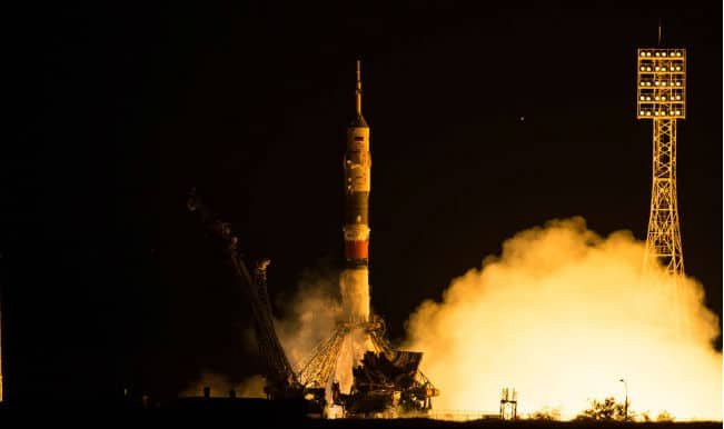 Expedition 44 astronauts reach International Space Station (ISS) for Mars research