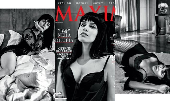 HOT & SIZZLING: Neha Dhupia is Maxim magazine's cover girl for July 2015! (Pics and Video)