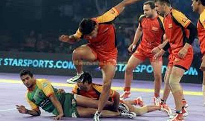 Pro Kabaddi League 2015 highlights: Bengaluru Bulls vs Patna Pirates match video