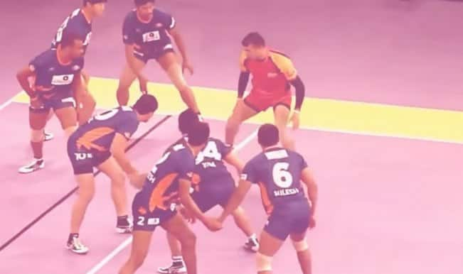 Pro Kabaddi League 2015 highlights: Telugu Titans vs Dabang Delhi (Watch video)