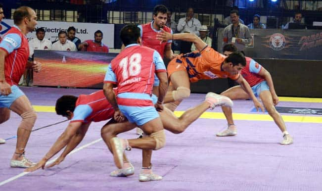Bengal Warriors Win 28- 26| Pro Kabaddi League 2015 Live Score Update: Bengal Warriors vs Jaipur Pink Panthers Live Points Update
