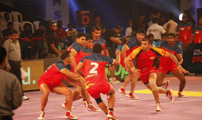 Bengaluru Bulls Win by 31 - 26 Puneri Paltan| Pro Kabaddi League 2015 Live Score: Bengaluru Bulls Vs Puneri Paltan Live Points Update