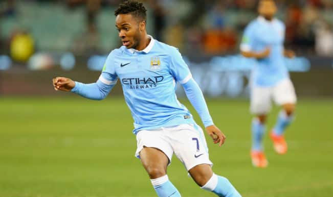 Raheem Sterling's dazzling footwork makes Manchester City players look stupid in training (Watch Video)