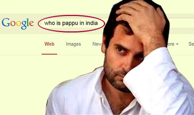 Who is Pappu in India? Google Search answers 'Rahul Gandhi' & explains why!