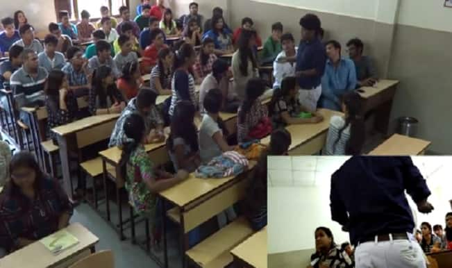 This girl was sexually abused by a lecturer in front of the whole class; what happens next will shock you