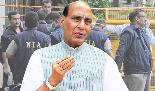 Rajnath Singh expresses concern on India-Myanmar  border situation