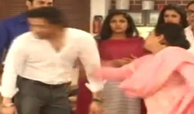 Yeh Hai Mohabbatein: Santoshi is back; slaps Raman Bhalla?