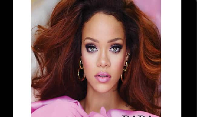 Rihanna looks like Barbie doll in new fragrance campaign