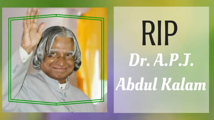 Words to Live by, in Honor of the Late Dr. APJ Abdul Kalam